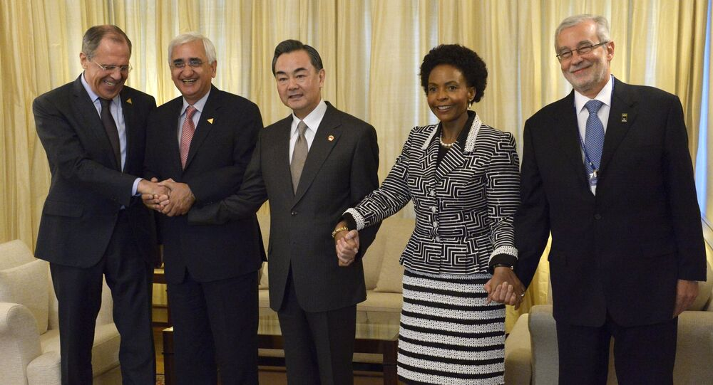 BRICS Foreign Ministers. File photo
