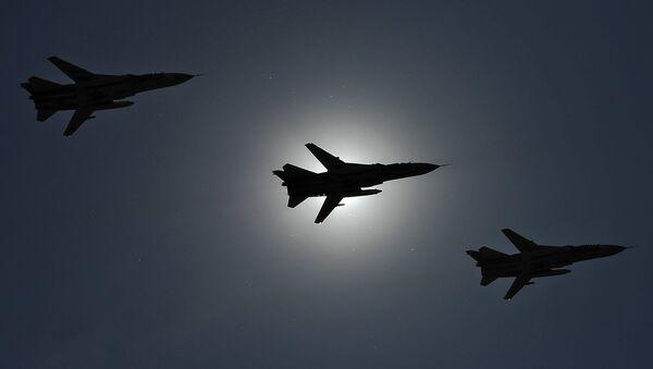SU-24 aircraft. File photo - Sputnik International