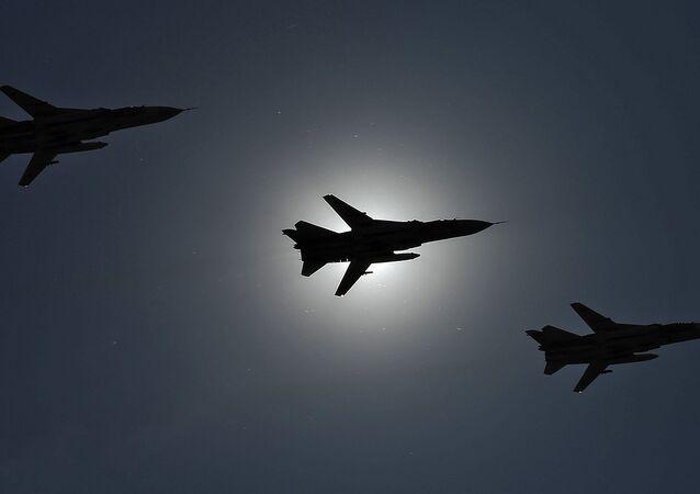 Russia Su-24 aircraft. File photo