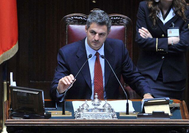 Italian lawmaker Simone Baldelli