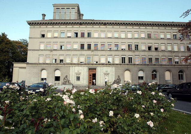 Organisation (WTO) headquarter in Geneva (Switzerland)