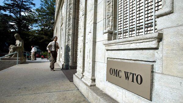 World Trade Organization (WTO) headquarter in Geneva (Switzerland) - Sputnik International