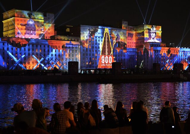 Opening Ceremony for Circle of Light Moscow International Festival