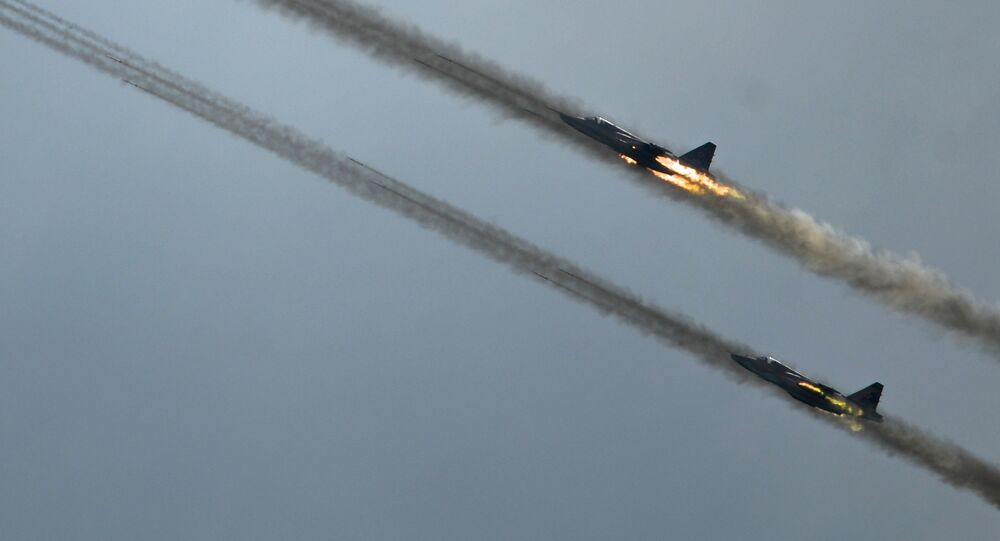 Sukhoi 25 jets