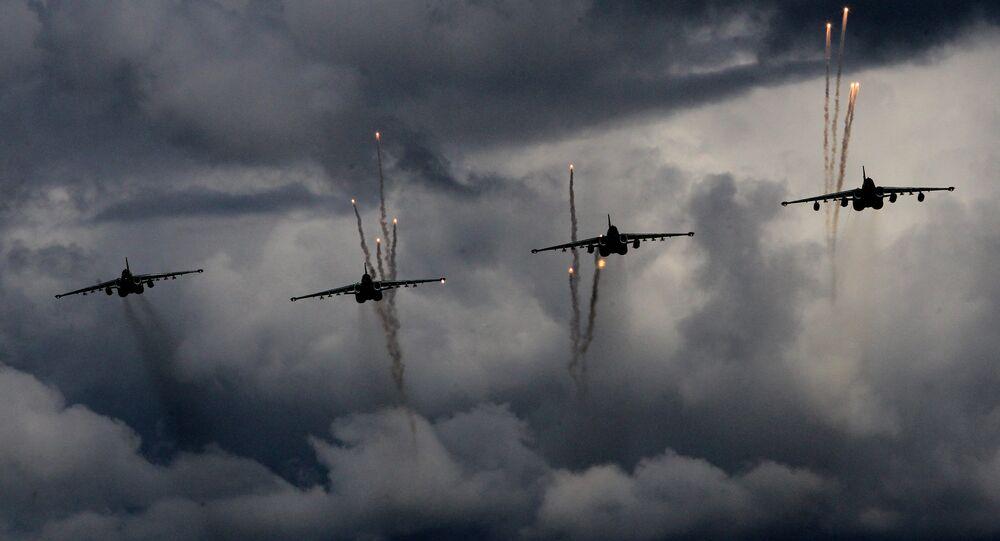 Sukhoi 25 Rooks jets