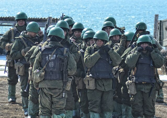 A battalion of Russian marines are providing security for the Russian Air Force deployed on the Hmaimim Airbase in Syria