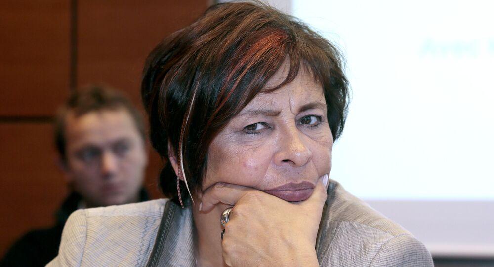 Member of Parliament Marie-Christine Dalloz (UMP).