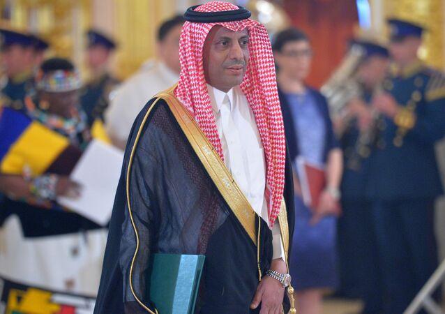 Saudi Arabia's Ambassador Abdulrahman bin Ibraheem Al-Rassi.