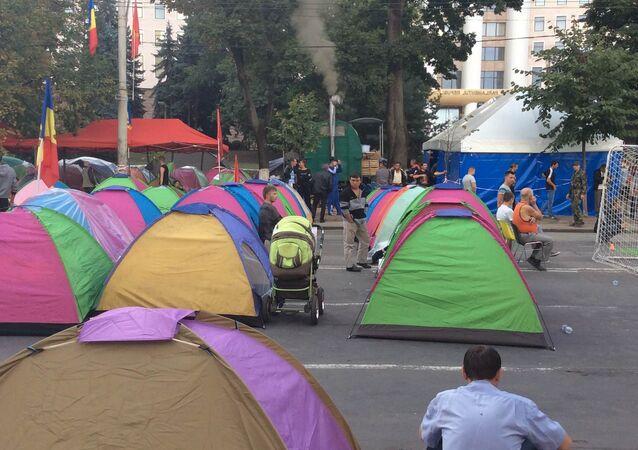 Protests in Kishinev