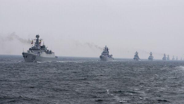 Chinese Navy warships - Sputnik International