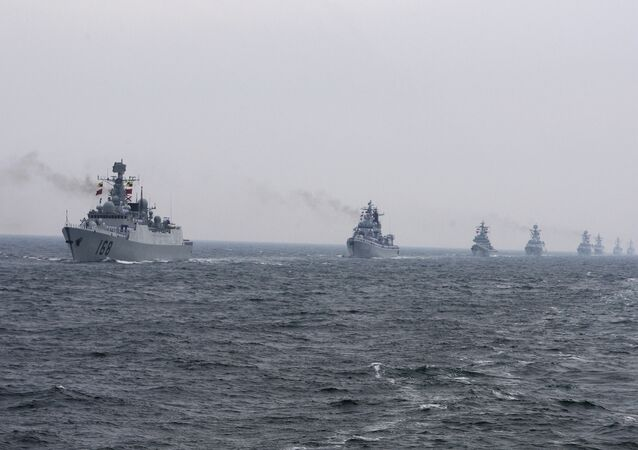 Chinese Navy warships