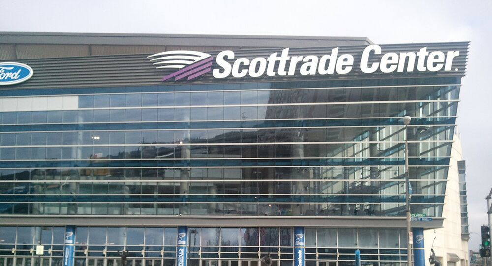 Scottrade Center in St. Louis, Missouri