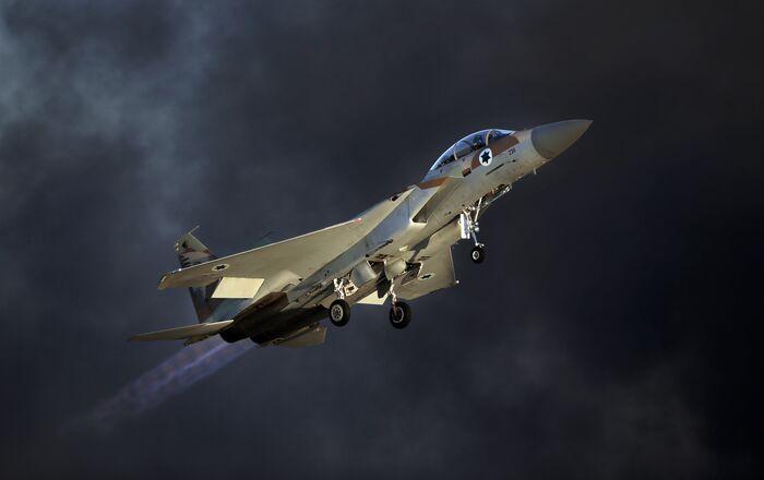 Israeli F-15 E fighter jet