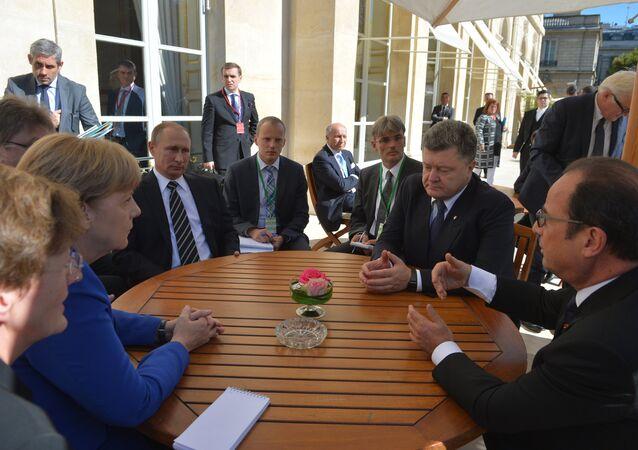 President Vladimir Putin visits France