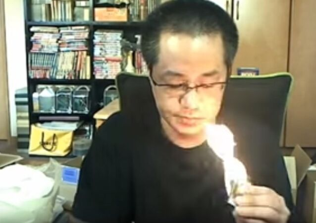 Japanese Live Streamer accidentally burns his house down