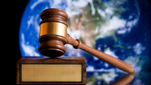 A judge's gavel - Sputnik International