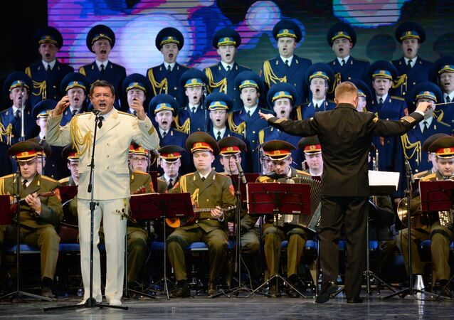 Performance of Alexandrov ensemble at Winter Arts Festival in Sochi. File photo.