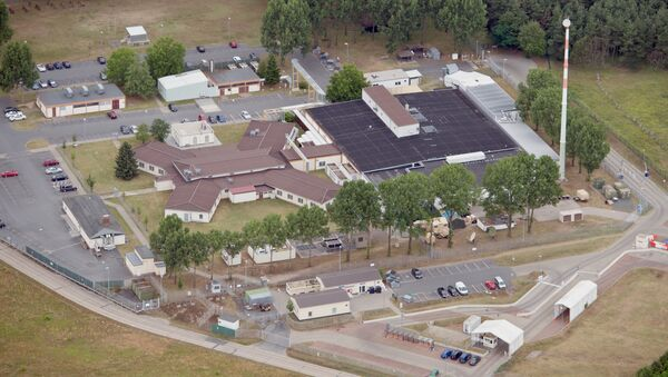 Picture made available July 8, 2014 shows an arial view of the 'Dagger Complex' in Griesheim near Darmstadt, Germany, 07 July 2014 - Sputnik International