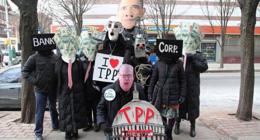 Anti-TPP rally