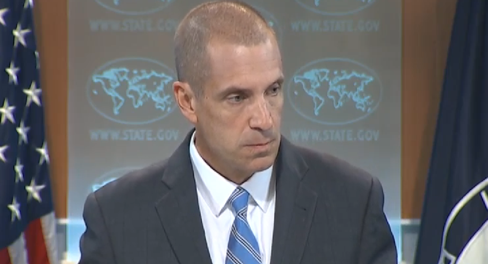 Associated Press reporter Matt Lee reminded State Department Deputy Spokesman Mark Toner of the department's sharp and immediate condemnation of an Israeli shelling, which accidentally struck a school in Gaza last year.