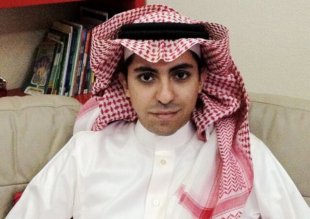 Picture of Raif Badawi (Arabic: رائف بدوي), a Saudi Arabian writer and activist