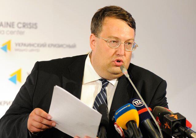 Press briefing by Anton Gerashchenko, adviser to Ukraine's Interior Minister
