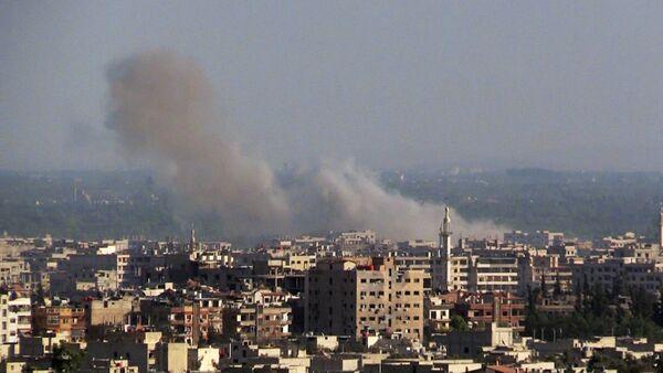 Military action near Damascus - Sputnik International