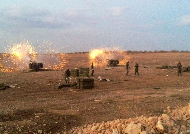 Syrian army takes offensive against ISIS militants in the north of Hama Governorate