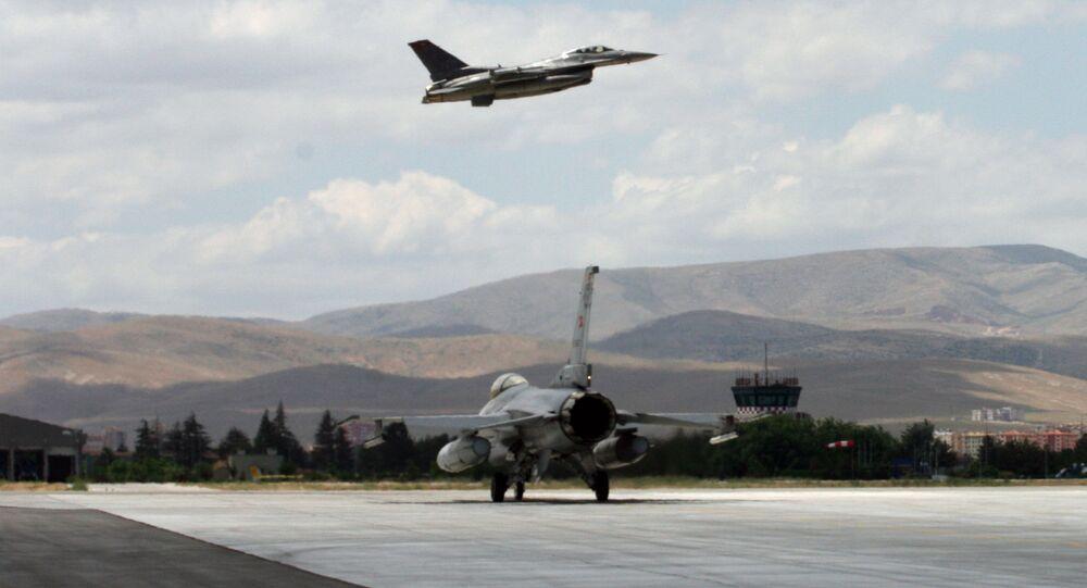 Turkish F16 jets