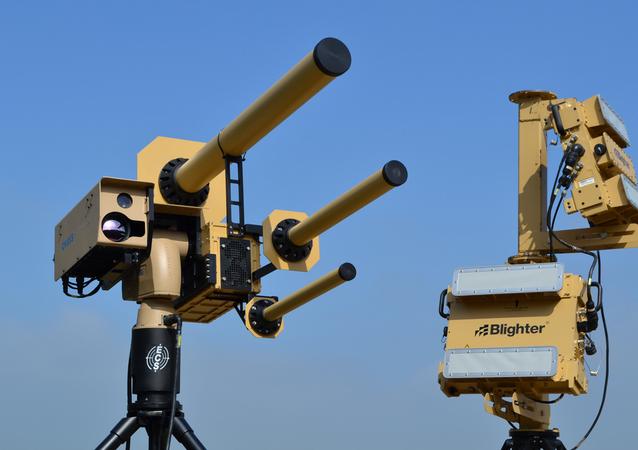 Blighter AUDS Anti-UAV Defence System