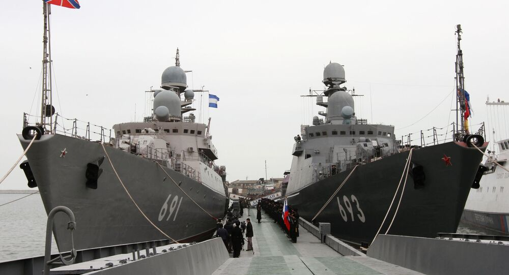 Missile ship Dagestan enters service in Caspian Flotilla