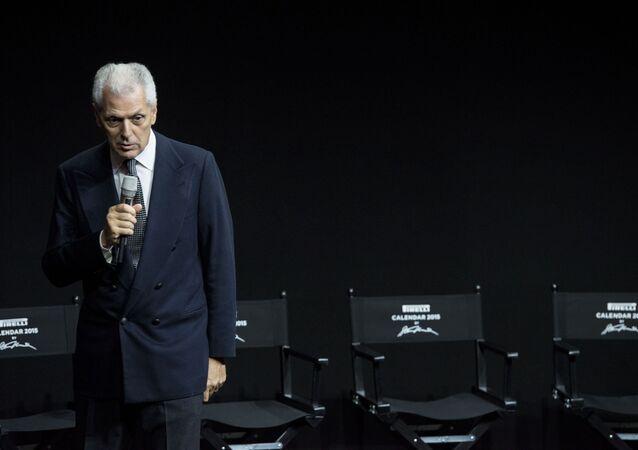 CEO Pirelli Group Marco Tronchetti Provera
