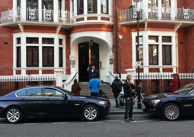 Ecuadorean embassy in London
