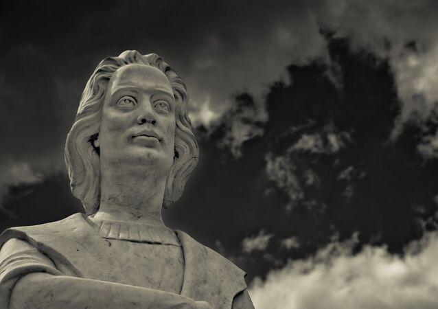Christopher Columbus statue in Boston