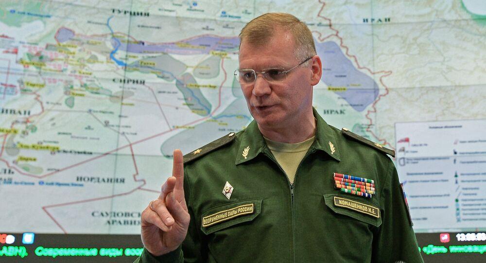 Press briefing by Russian Defense Ministry Spokesperson Konashenkov