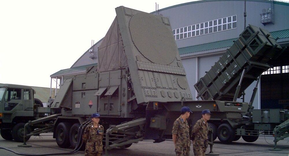 MIM-104 Patriot Radar unit