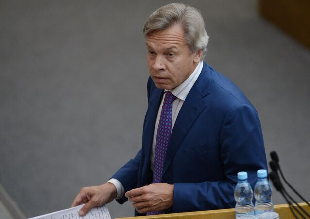 Chairman of the State Duma Committee on International Affairs Alexei Pushkov