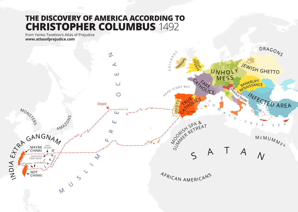 Hilarious Politically INCORRECT Maps of the World