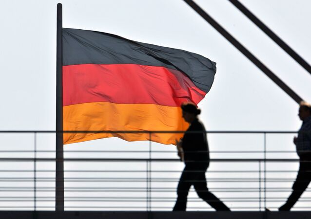 German National flag. (File)