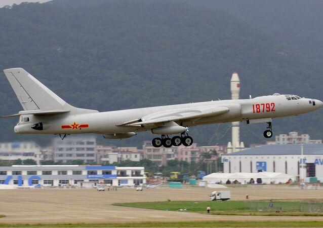 Beijing's H-6K bomber