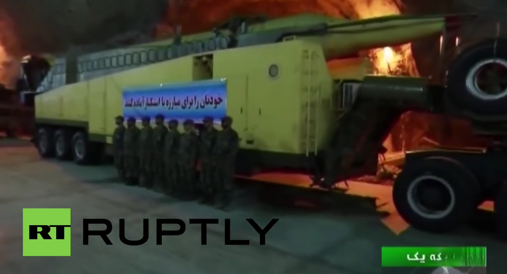 Iran: Footage reveals long-range missile launch facility for first time