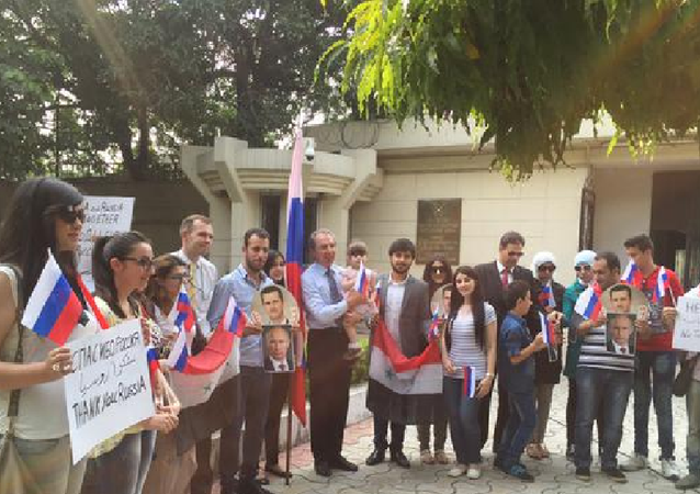 Syrian students in India thank Russia for its role in defeating terrorism, ISIL
