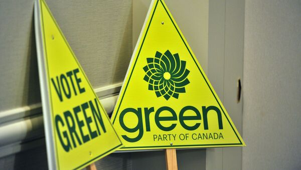 The Green Party of Canada - Sputnik International