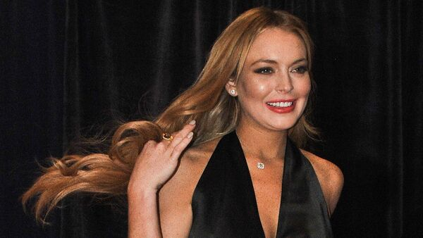 US actress Lindsay Lohan. (File) - Sputnik International