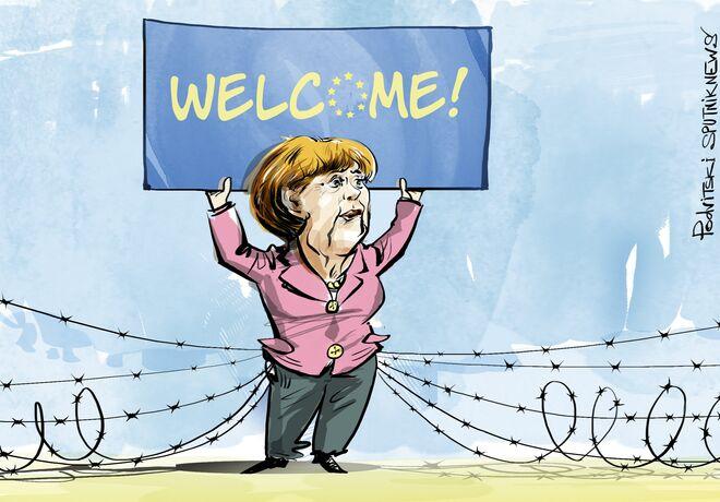 Great Wall of Merkel