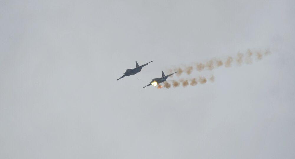 Su-25 fighters