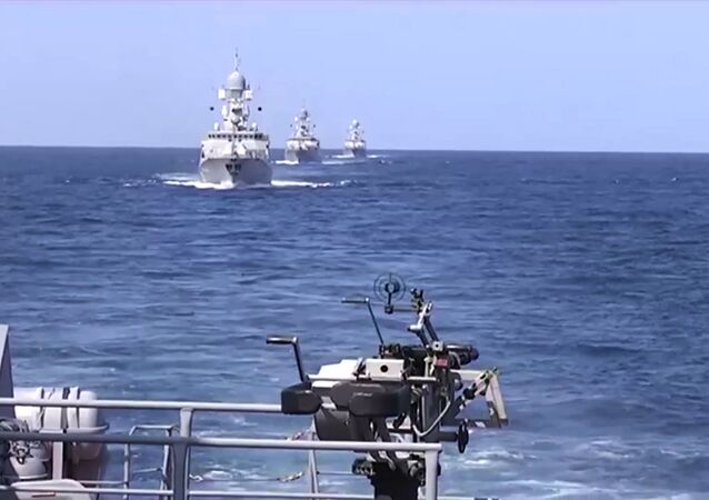 Caspian Flotilla ships have launched 26 cruise missiles at Islamic State facilities at Islamic State positions in Syria