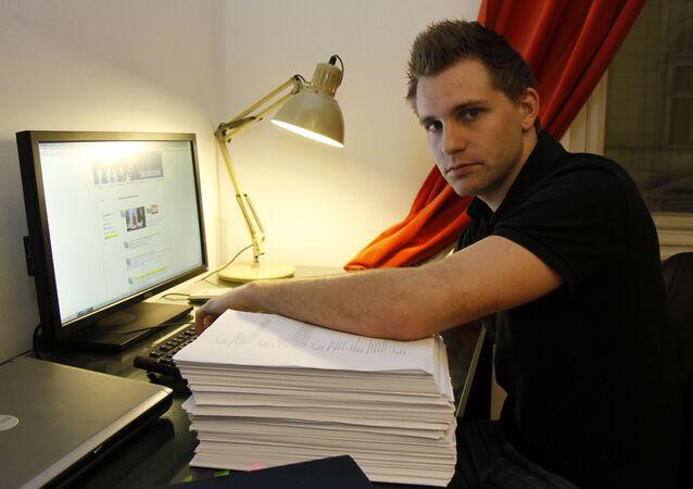 Austrian law student Max Schrems
