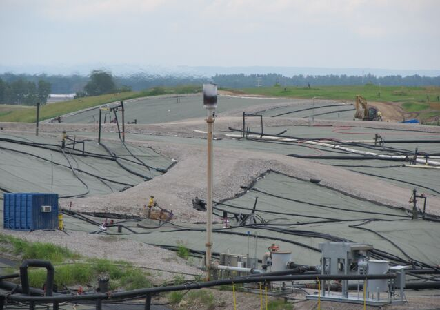The West Lake Landfill in Bridgeton, Missouri, pictured in July 2014