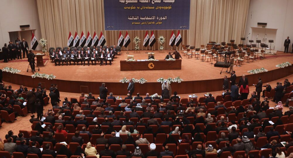 Iraqi Parliament. File photo